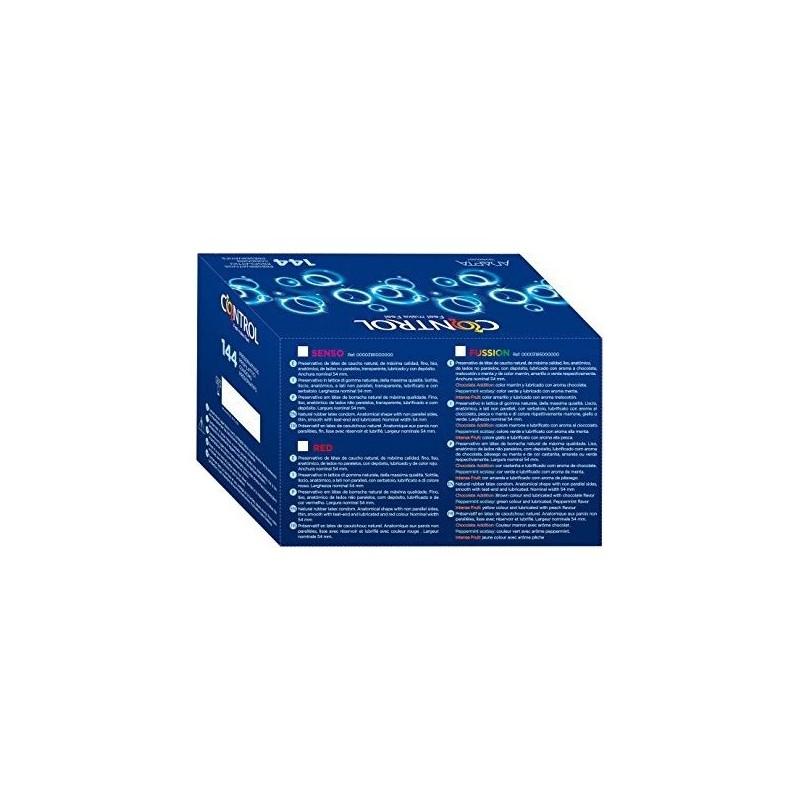 PRESERVATIVOS CONTROL FUSSION CAJA PROFESIONAL 144 UDS de la marca CONTROL