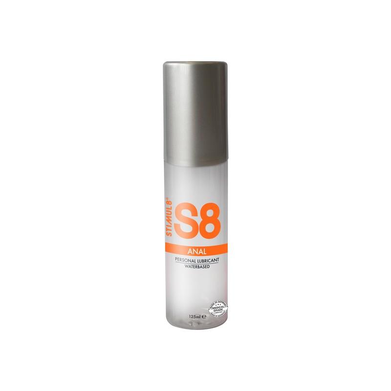 S8 LUBRICANTE ANAL BASE DE AGUA 125ML de la marca STIMUL8