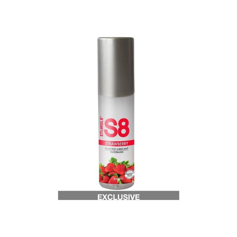 S8 LUBRICANTE SABORES 50ML FRESA