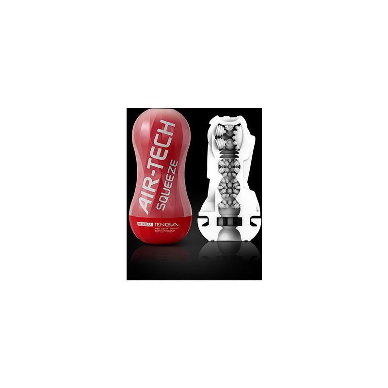 TENGA - AIR-TECH MASTURBADOR SQUEEZE REGULAR de la marca TENGA