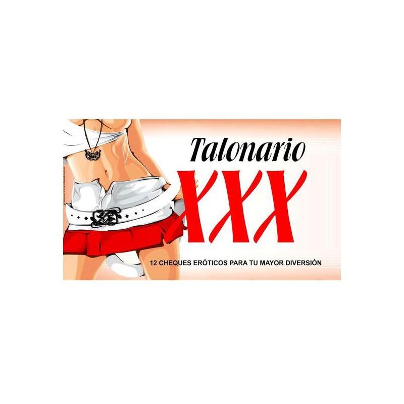 TALONARIO XXX de la marca DIVERTY SEX