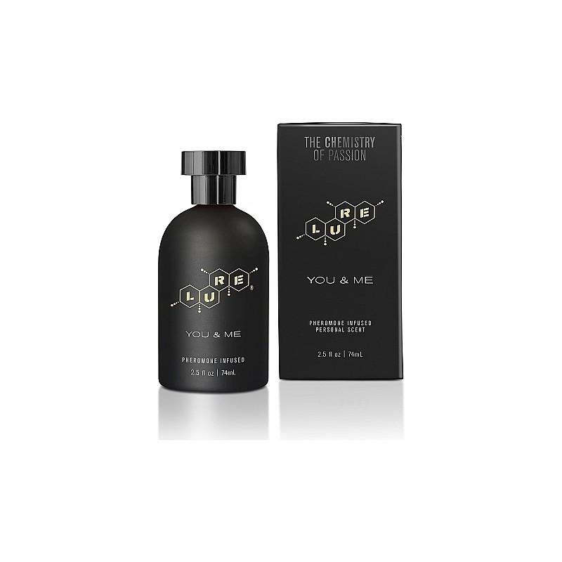 LURE BLACK LABEL FOR YOU & ME PERFUME FEROMONAS UNISEX 74ML de la marca TOPCO SALES