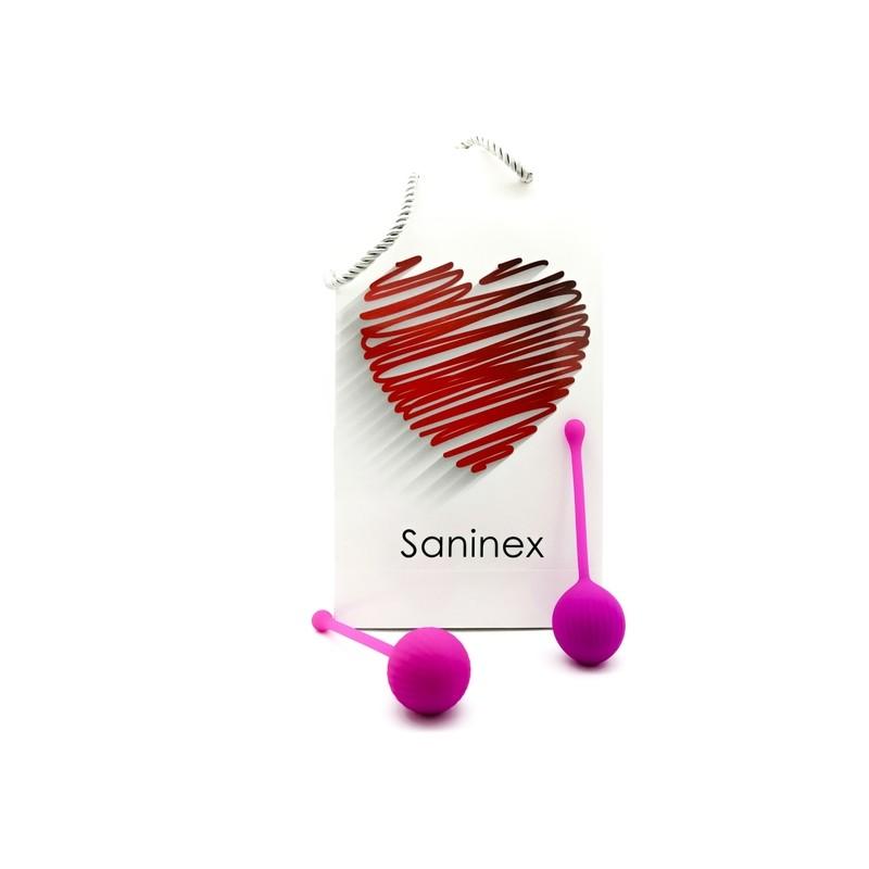 SANINEX CLEVER - INTELIGENTE ESFERA VAGINAL MORADO de la marca SANINEX