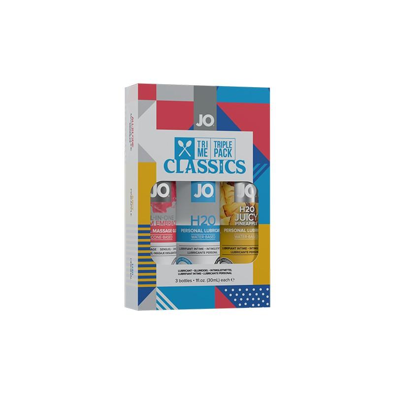 SYSTEM JO - TRI ME TRIPLE PACK CLASSIC de la marca JO