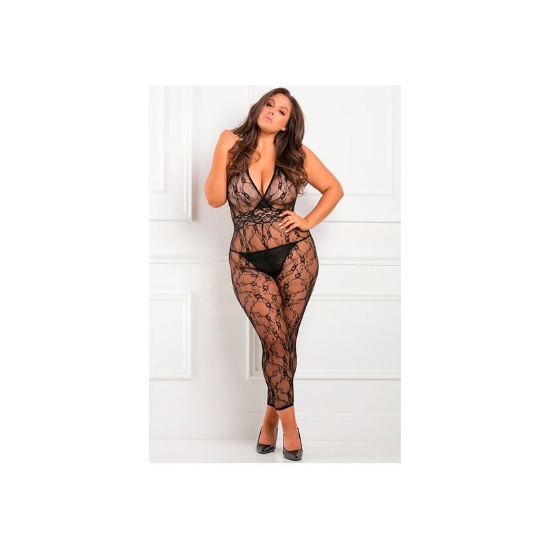 LACY MOVIE BODY DE MALLA - NEGRO de la marca RENE ROFE