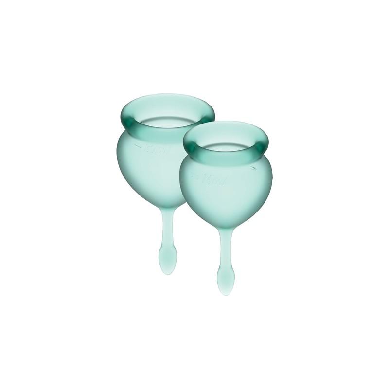 SATISFYER FEEL GOOD COPA MENSTRUAL - VERDE OSCURO de la marca SATISFYER