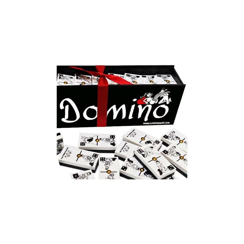 CAJA DOMINÓ ERÓTICO PAREJAS HÉTERO de la marca INEDIT