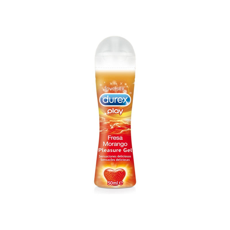 DUREX PLAY FRESA MORANGO 50ML