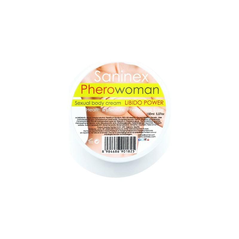 SANINEX PHEROWOMAN LIBIDO POWER PHEROMONE 150 ML