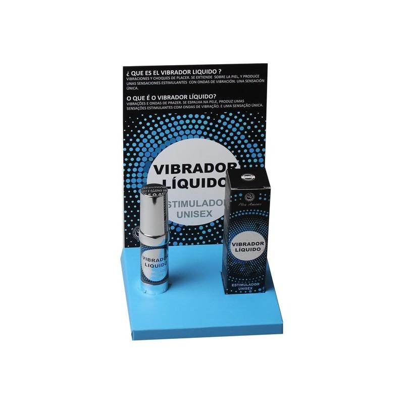 VIBRADOR LIQUIDO ESTIMULADOR UNISEX 15 ML. de la marca SECRET PLAY