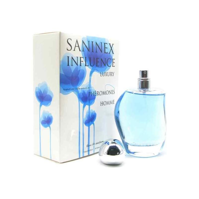 SANINEX PERFUME PHÉROMONES INFLUENCE MOD. LUXURY MEN de la marca SANINEX