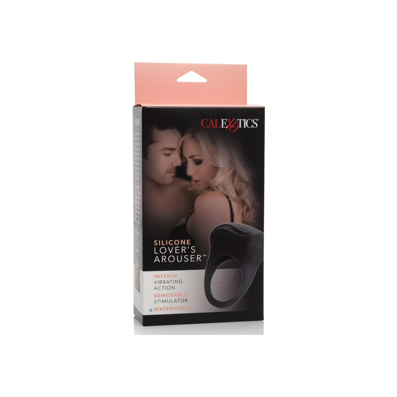 LOVERS AROUSER ANILLO VIBRADOR NEGRO